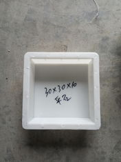 China Flat Square Concrete Patio Stone Molds , Concrete Tile Molds  30 * 30 * 10cm supplier